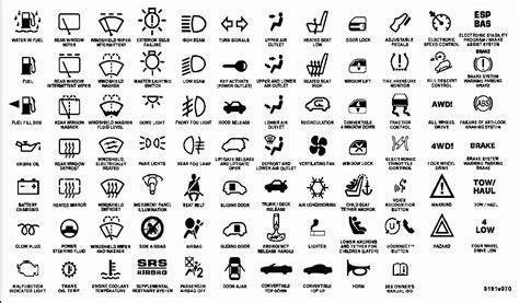 chrysler symbols chrysler dashboard warning lights symbols 2005 mercedes