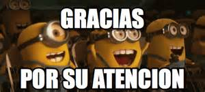 gracias por su atencion gracias por su atencion minions gif 5 gif images download