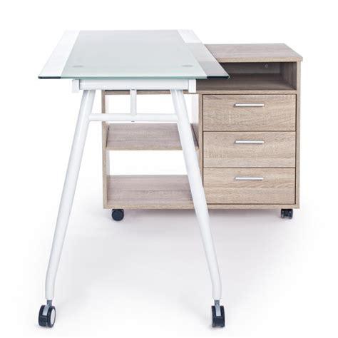 scrivania girevole scrivania girevole con cassettiera by bizzotto