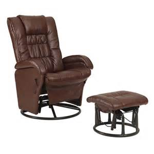 Recliner With Ottoman Glider Rocker Recliner With Ottoman Shopko