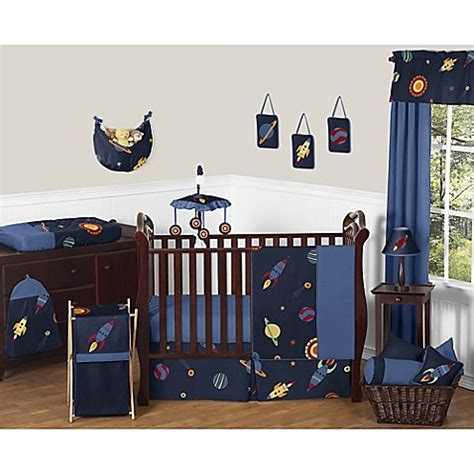 space nursery bedding sweet jojo designs space galaxy crib bedding collection