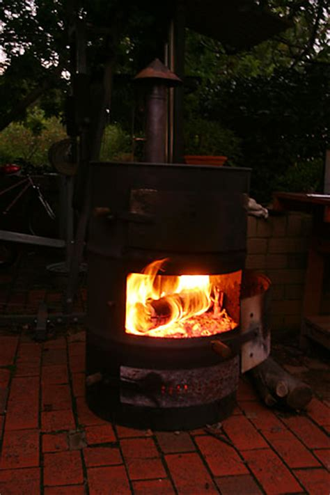 Drum Fireplace by 44 Gallon Drum Stove Now A Pizza Oven 171 Daub Stuff