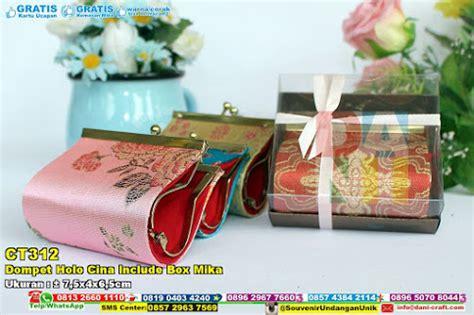 Tempat Tissue Kain Sleting Tissue Include Tissue 1 dompet holo cina include box souvenir pernikahan