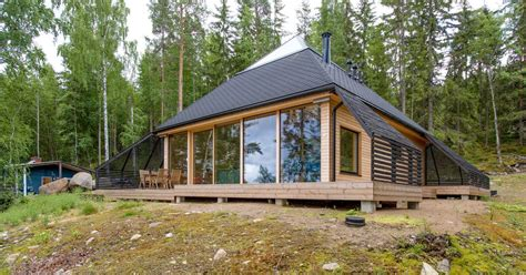 Timos House 28 Images Scandinavian Style Glulam Log House Timo Log Structures Uk