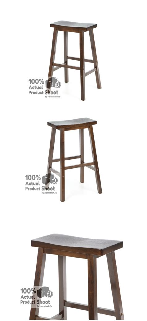 Rectangular Bar Stools by Rectangle Wooden Stool 29 Inch Rectangle Wood Bar Stool
