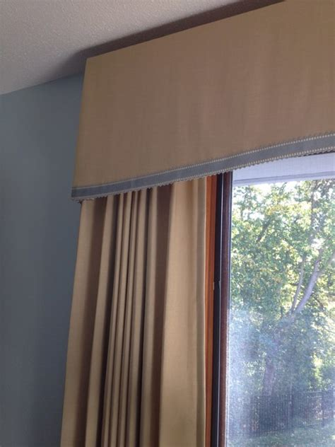 custom box pleat valance traditional indianapolis by custom box pleated valance with side panels traditional