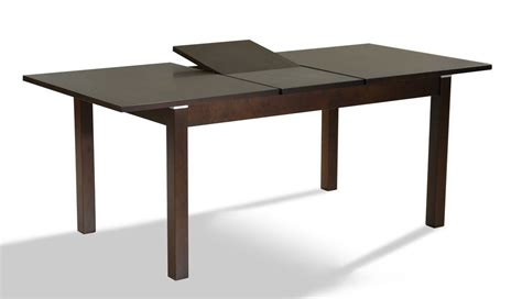 walnut extendable contemporary dining table coral