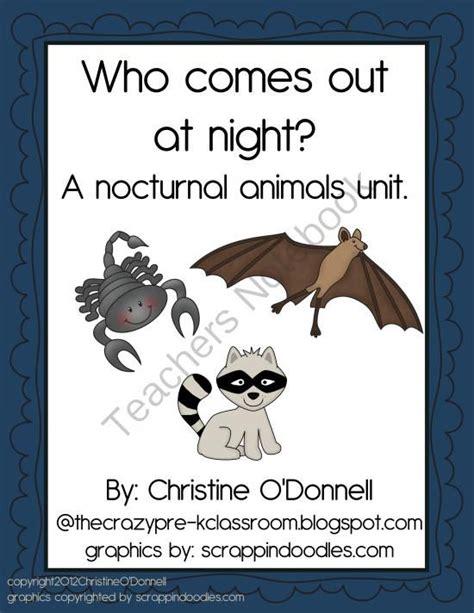 printable nocturnal animal book 62 best letter n crafts images on pinterest nocturnal