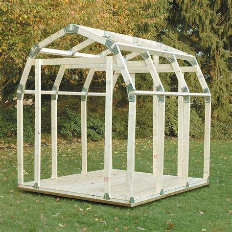 basics diy shed kit barn roof style budkcom