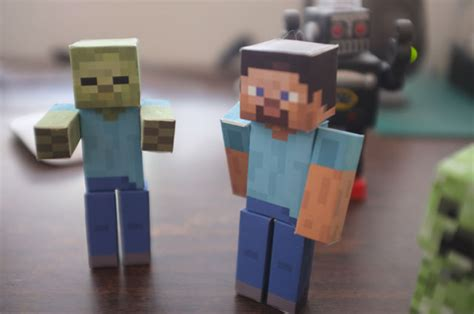 How To Make Paper Minecraft Characters - diy paper minecraft characters rabbleboy the official