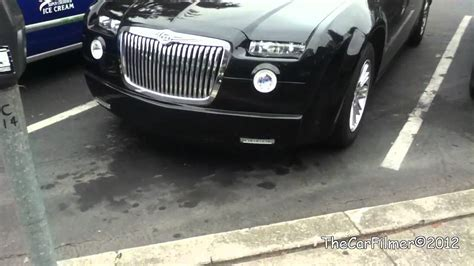 chrysler 300 vs phantom chrysler 300 with rolls royce kit youtube