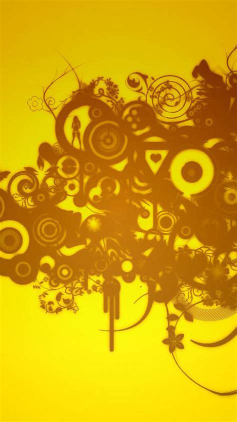 yellow wallpaper hd iphone 30 hd yellow iphone wallpapers