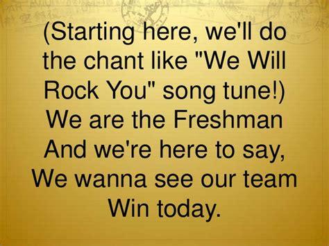 rock the boat softball chant lyrics froshcommpowerpoint