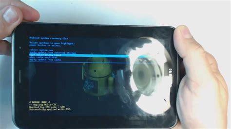 reset samsung tablet 2 samsung galaxy tab 2 p3100 hard reset youtube