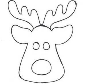patrones de renos de navidad en fieltro imagui