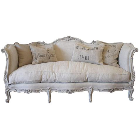daybed style sofa vintage french louis xv style daybed sofa in natural