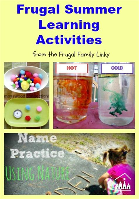 fun learning activities for 1845908929 frugal summer learning activities crafty kids at home