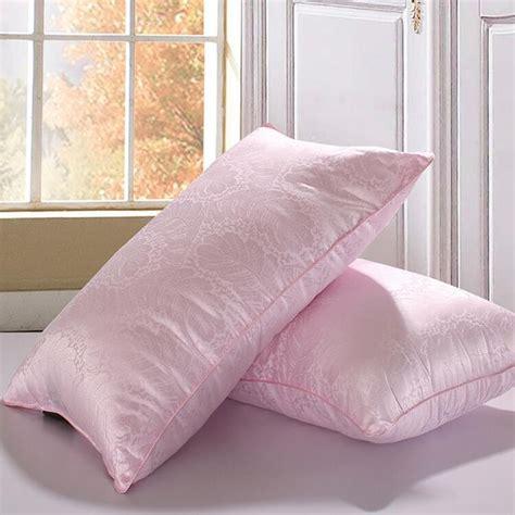 kapok comforter bed pillow mulberry silk kapok 48 74cm five star hotel