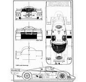 Porsche 956 Le Mans 1982 Blueprint  Download Free