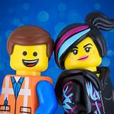 The Lego Movie Emmet And Lucy | 736 x 736 jpeg 66kB