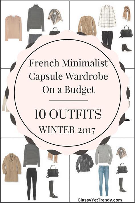 New Wardrobe On A Budget by Minimalist Capsule Wardrobe On A Budget 10 Winter