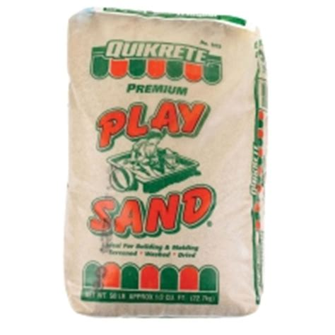200 lbs of clean play sand from home depot 10