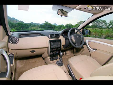 nissan terrano india interior nissan terrano interior photos india com photogallery