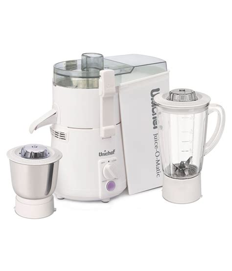 Juicer 7 In 1 By Vicenza unichef juice o matic plus sm series juicer mixer grinder