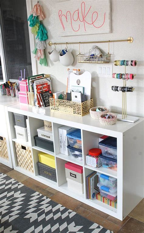 bedroom craft ideas my new colorful functional craft room storage ideas