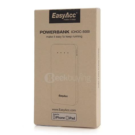 Powerbank Connector Cable 8 In 1 easyacc cable 5000mah external battery charger portable