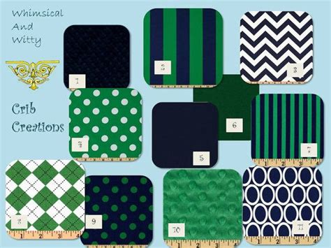 kelly green bedding navy and kelly green custom 3 piece crib bedding set