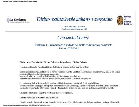 dispense di diritto costituzionale introduzione al diritto comparato dispense