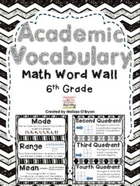 themed math definition homeschool math vocabulary and words on pinterest