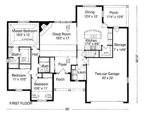 housing blueprints floor plans exle of house plan blueprint exles of house windows