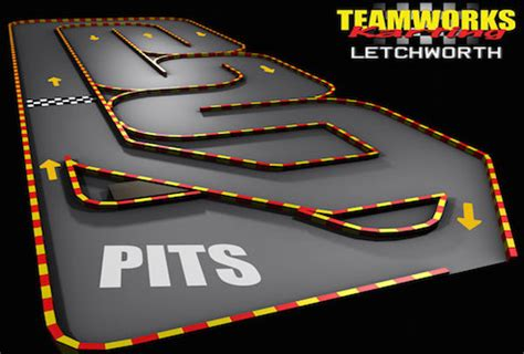 go kart circuit design racetrackdesigns teamworks karting letchworth fastest indoor karts