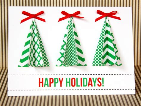 12 beautiful diy homemade christmas card ideas home