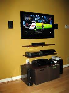 home theater wall mount shelves hdtv wall mount media room shelving