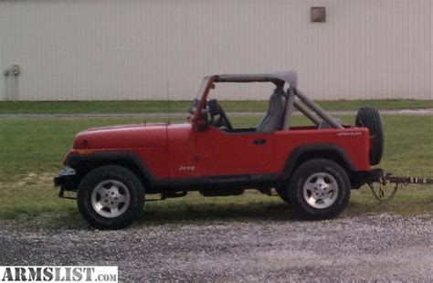 91 Jeep Wrangler Yj Armslist For Sale Trade 91 Jeep Wrangler