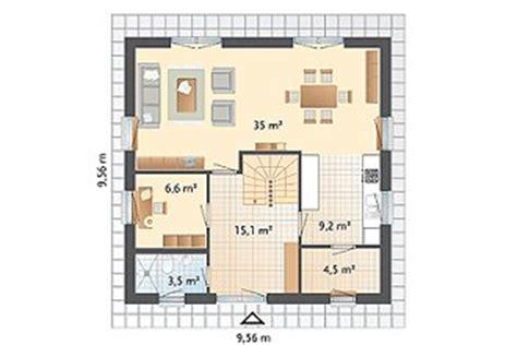 Grundriss Quadratisches Haus by Danhaus Haustyp Blankenese Hausportrait Bei Top