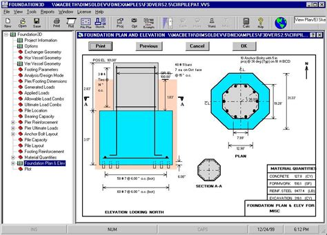pipe rack foundation design chempute software petrochemical equipment foundation design