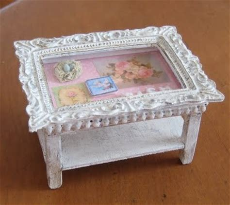 shabby chic picture frame coffee table diy crafts