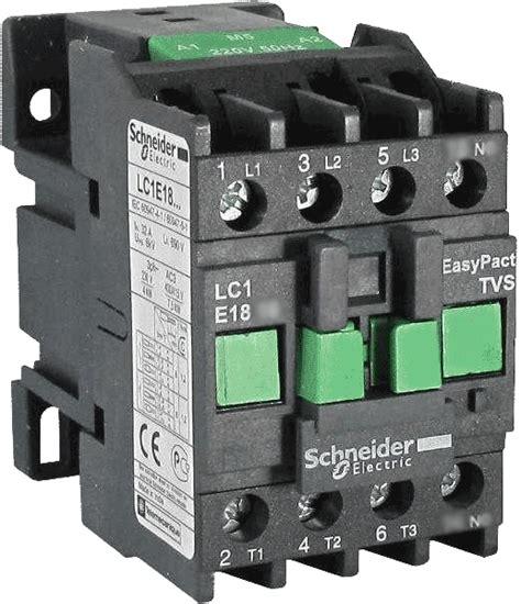 контактор lc1e1810m5 easypact tvs tesys e schneider electric 18а 7 5квт магнитный пускатель