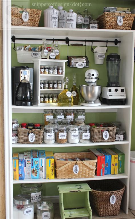 Design Your Own Pantry by Snippets Of Design New Pleasant Personal Proficient