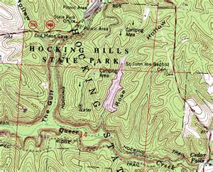 Topographical Map Of Ohio by Acquiring Ohio Topographic Maps Trekohio