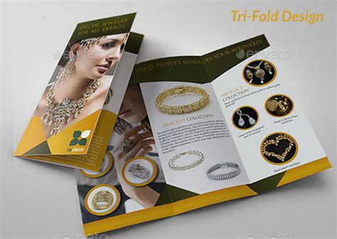 jewelry brochure template 10 best jewelry brochure templates for jewelry business