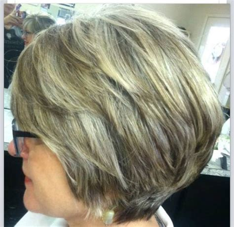 photographs of grey hair with highlights natural highlights for graying hair cute cut too gray