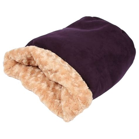 cuddle cup dog bed cuddle cup dog bed by susan lanci plum luxe suede designer dog beds at glamourmutt com