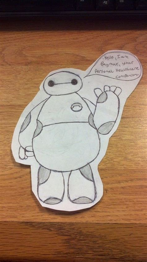 doodle baymax baymax doodle by blackshadowbutterfly on deviantart