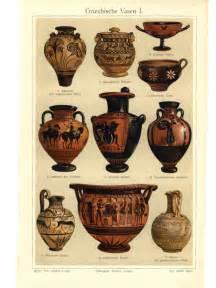 antike vasen vintage schaubilder v 1908 griechische vasen i