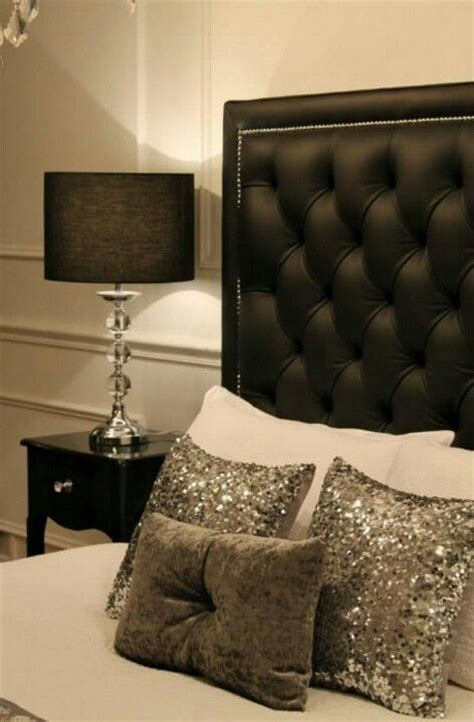 sparkly bedroom decor beds with headboard 20 photos messagenote